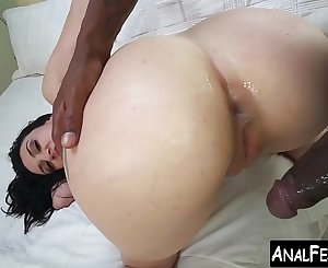 Big booty Mandy Muse gets BBC ass spreading of a lifetime