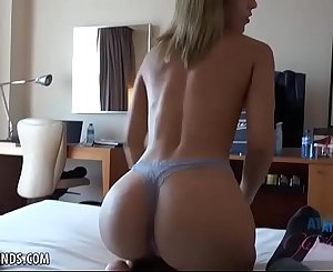 Latina with PERFECT ass fucked in Spain (Demi Lopez) POV Amateur