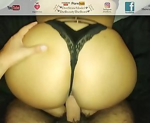 Fucking My Landlords Daughter In Their Room! Round Big Ass Thong Fuck POV