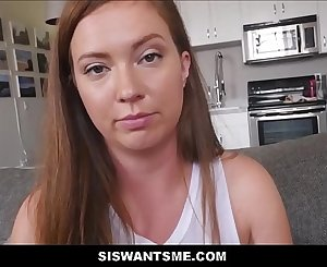 Sexy Big Ass Teen Stepsister Maddy O'reilly Fucked In Ass And Pussy After Stepbrother Finds Porn On Her Computer POV