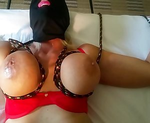 BLONDE BANDITT TIED UP AND FUCKED HARD WITH HUGE BOUNCING TITS AND Superb BIG HARD Puffies PART 1 see more banditt @manyvids.com search blonde banditt