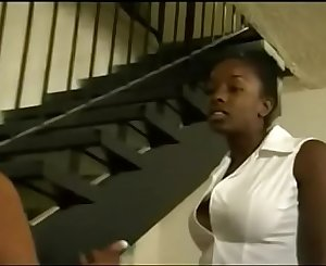 black woman spanks teen daughter