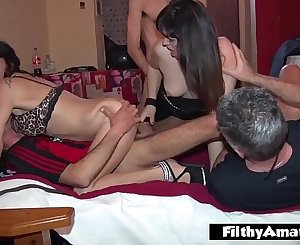 Real unexperienced fuck fest with swinger couples in Milan